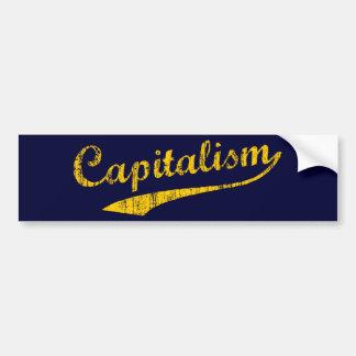 Capitalism Car Bumper Sticker