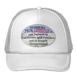 capitalism freedom trucker hats