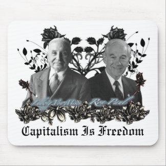 Capitalism / Freedom (ron paul, Mises) Mouse pad