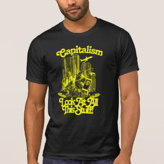 Capitalism is Disgusting Fitted Tee