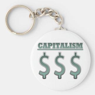 Capitalism Key Chain