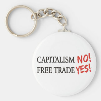 Capitalism NO Keychains