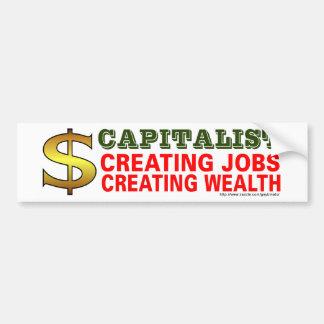 Capitalist Bumper Sticker