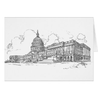Capitol building card