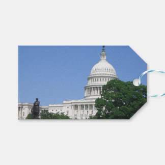 Capitol Building in Washington DC Gift Tags