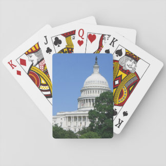 Capitol Building in Washington DC Playing Cards