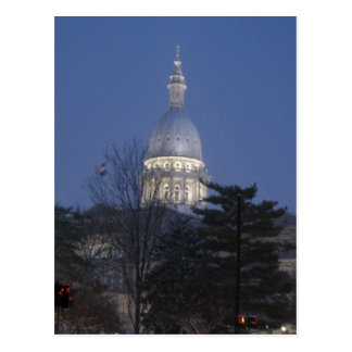 Capitol Building Lansing Michigan Postcard