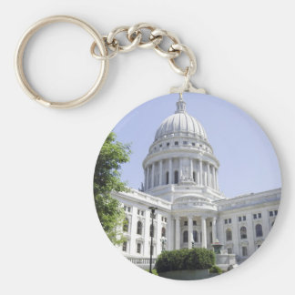 Capitol Building Madison WI Key Ring