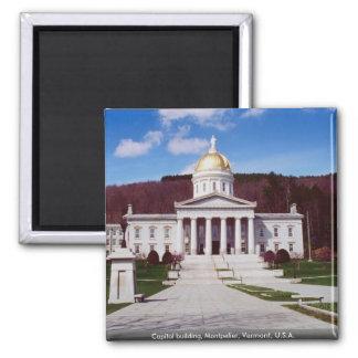 Capitol building, Montpelier, Vermont, U.S.A. Magnet