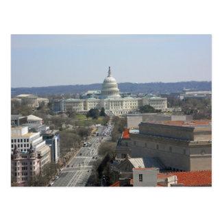 Capitol Building Pennsylvania Ave Washington DC Postcard