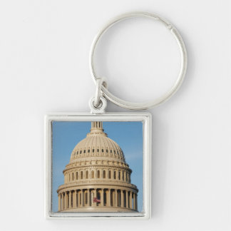 Capitol Building shot at dusk Keychains
