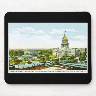 Capitol Centennial Building, Springfield, Illinois Mouse Pad