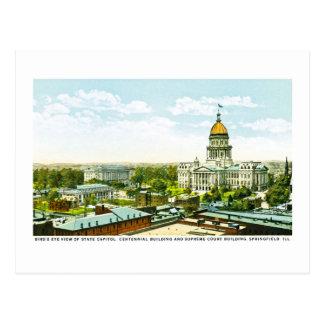 Capitol Centennial Building, Springfield, Illinois Postcard