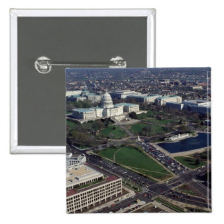 Capitol Hill Aerial Photograph Pin