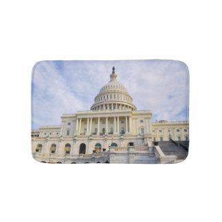 Capitol Hill Building in Washington DC Bath Mat