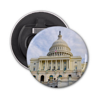 Capitol Hill Building in Washington DC Bottle Opener