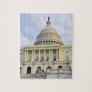 Capitol Hill Building in Washington DC Jigsaw Puzzle