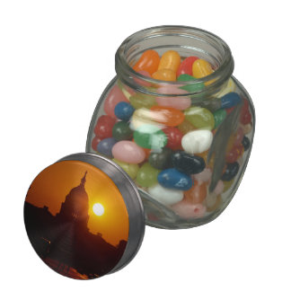 Capitol Hill Sunset Glass Jars