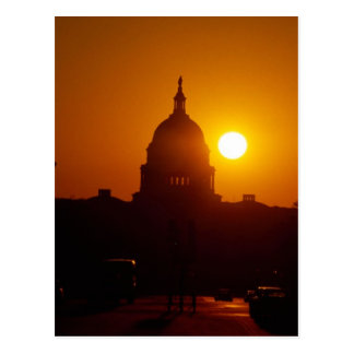 Capitol Hill Sunset Postcard