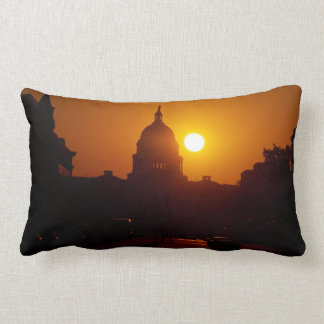 Capitol Hill Sunset Throw Cushion