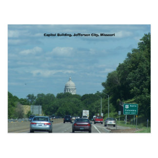 Capitol, Jefferson City, Mo., Capitol Building,... Postcard