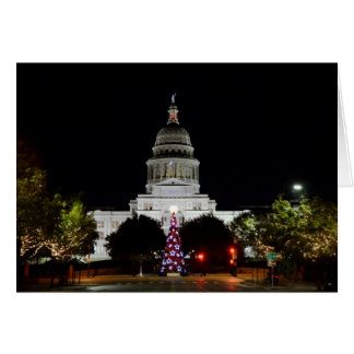 Capitol of Texas Holiday Greeting Card