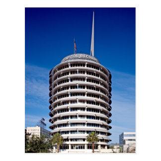 Capitol Records Tower LA Postcard