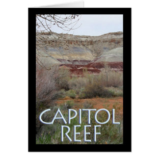 Capitol Reef Greeting Card