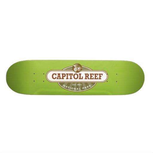 Capitol Reef National Park Skate Deck