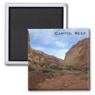 Capitol Reef National Park Square Magnet