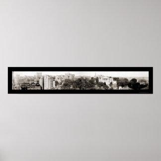 Capitol & Richmond, VA Photo 1919 Poster