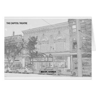 CAPITOL THEATRE - MACON, GEORGIA CARD