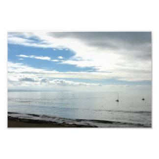 Capitola Beach Photographic Print