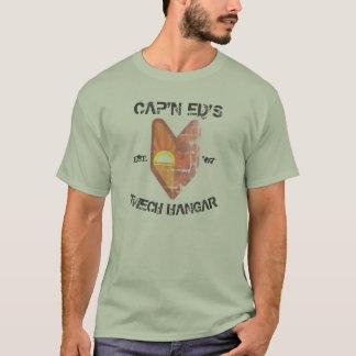 Cap'n Ed's 'Mech Hangar Leaf T-Shirt