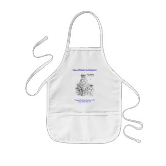 Cap'n Whaley at the Harbor Kids Apron
