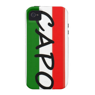 CAPO, capo means BOSS! in italian and spanish, iPhone 4/4S Cover