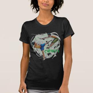 capoeira, e minha vida dark T-Shirt