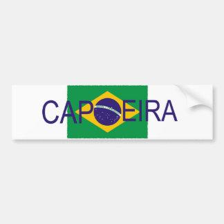 Capoeira flag bumper sticker