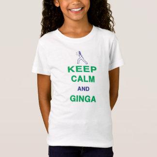 Capoeira: Keep Calm and Ginga T-Shirt