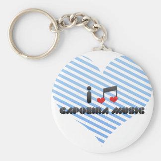 Capoeira Music Key Ring