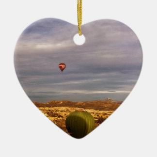 Cappadocia Balloons Ceramic Ornament