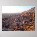 Cappadocia sunset poster