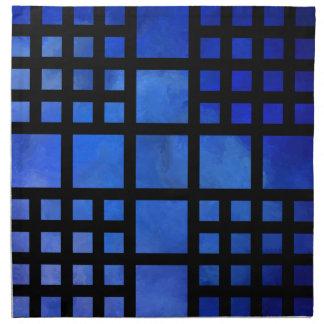 Cappanella V1 - blue squares Napkin