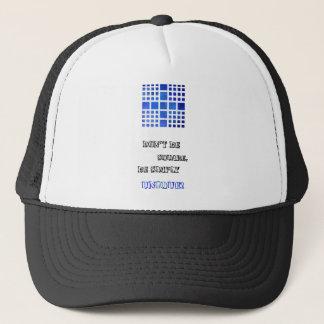 Cappanella V1 - blue squares Trucker Hat