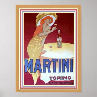 Cappiello Martini Torino 12 x 16 Poster