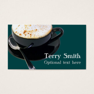 Cappuccino Business Card