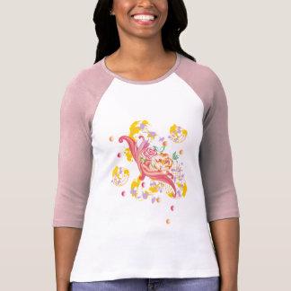 Cappuccino Flowers Shirt