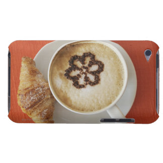 Cappuccino with chocolate and a croissant, Italy Case-Mate iPod Touch Case