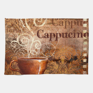 Cappucino Tea Towel
