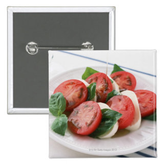 Caprese 15 Cm Square Badge